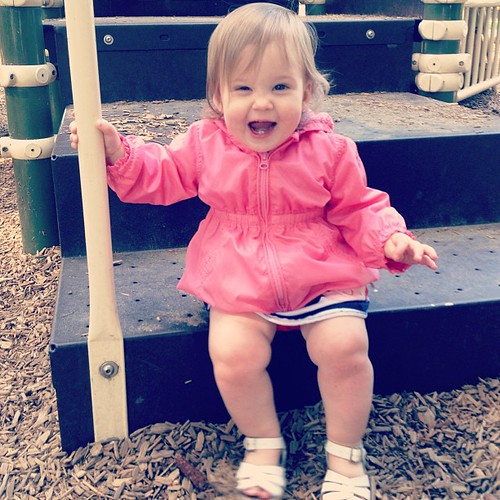 Playground excitement!