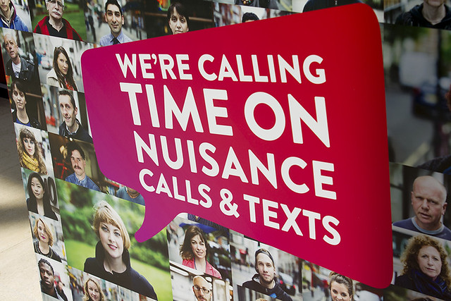 Which? are campaigning to call time on nuisance calls and texts