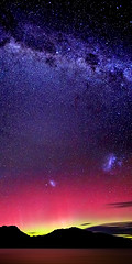 Aurora Australis & The Milky Way