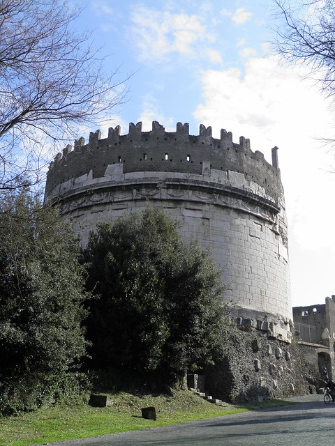 Mausoleum of Caecilia Metella, Via Appia