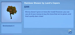 Rainbow Shower by Land's Capers
