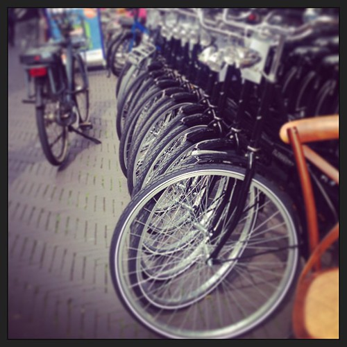 #bicycle galore - truly #dutch!