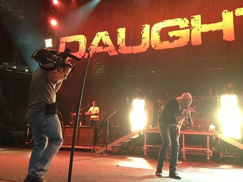 Daughtry On Stage