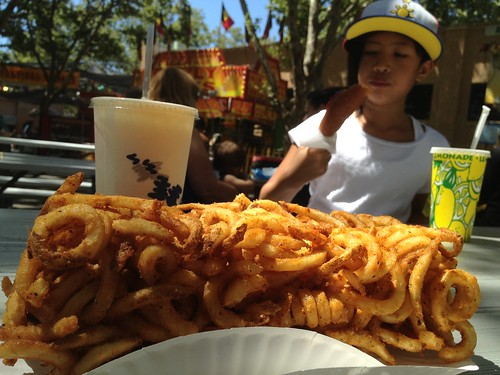 Jazzy and the giant BRICK OF FRIES