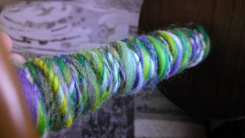 first ever handspun!!