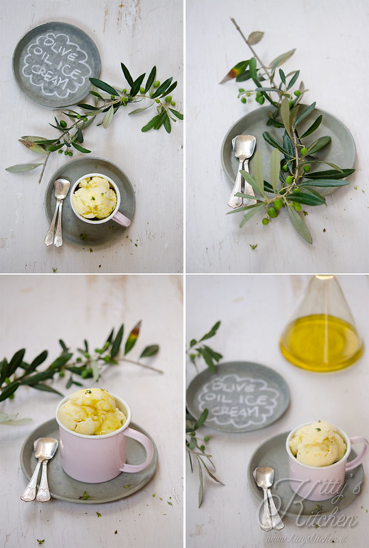 gelato all'olio d'oliva