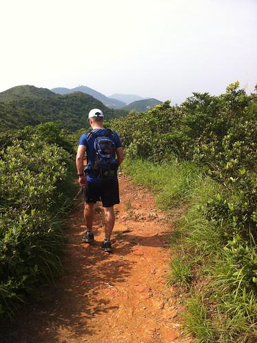 Marcel Ekkel on the Hong Kong Trail