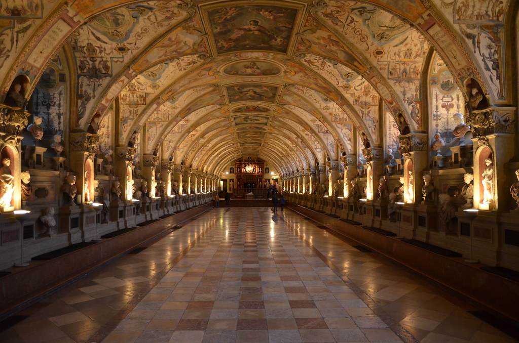 The Hall of Antiquities, Residenz Museum