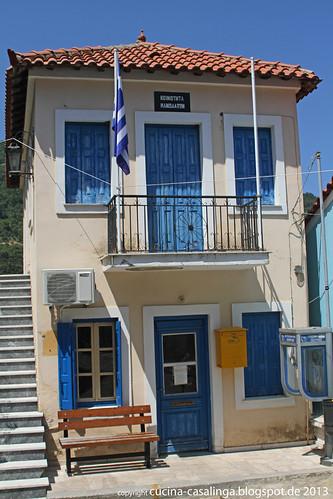 Samos Manolates Rathaus