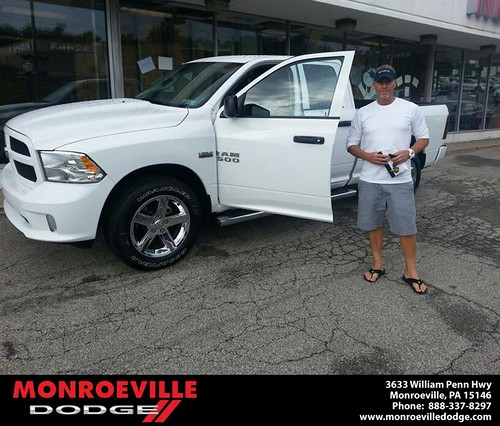Thank you to Christopher Strom on the 2013 Dodge Ram  from Scott Butler and everyone at Monroeville Dodge! by Monroeville Dodge