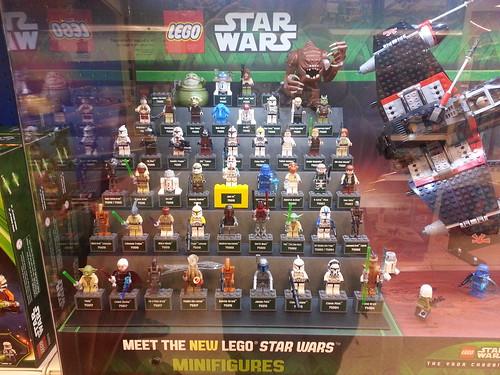 LEGO Star Wars Display Minifigures