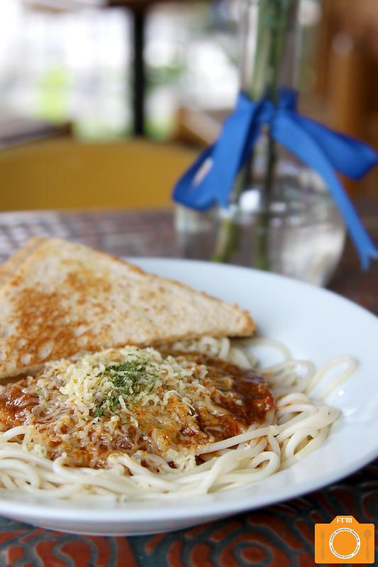 Cafe Breton Spaghetti