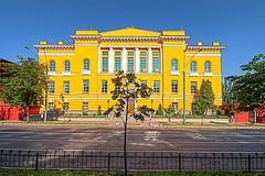 Die Universit�tsbibliothek der Nationalen Taras-Schewtschenko-Universit�t Kiew. Photo: Matt Shalvatis / flickr Namensnennung, nicht kommerziell, Weitergabe unter gleichen Bedingungen Creative Commons Licence