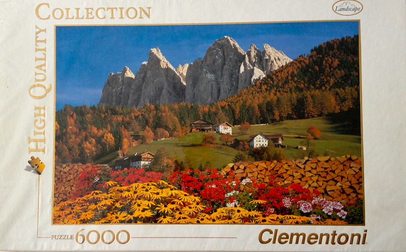 New Puzzle Day: Dolomites