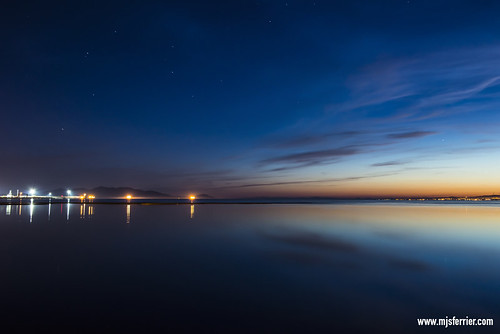 Barassie Beach Twilight MJSFerrier _8003059 by MJSFerrier