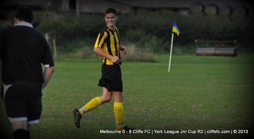 Cliffe FC  8 - 0 Melbourne 28Aug13