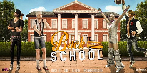 SET Back To School Poster!