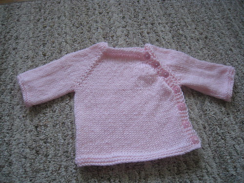 Veronica's Pink sweater