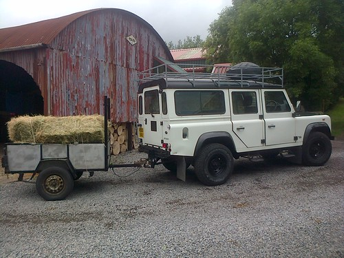 hay and land rover Sept 13