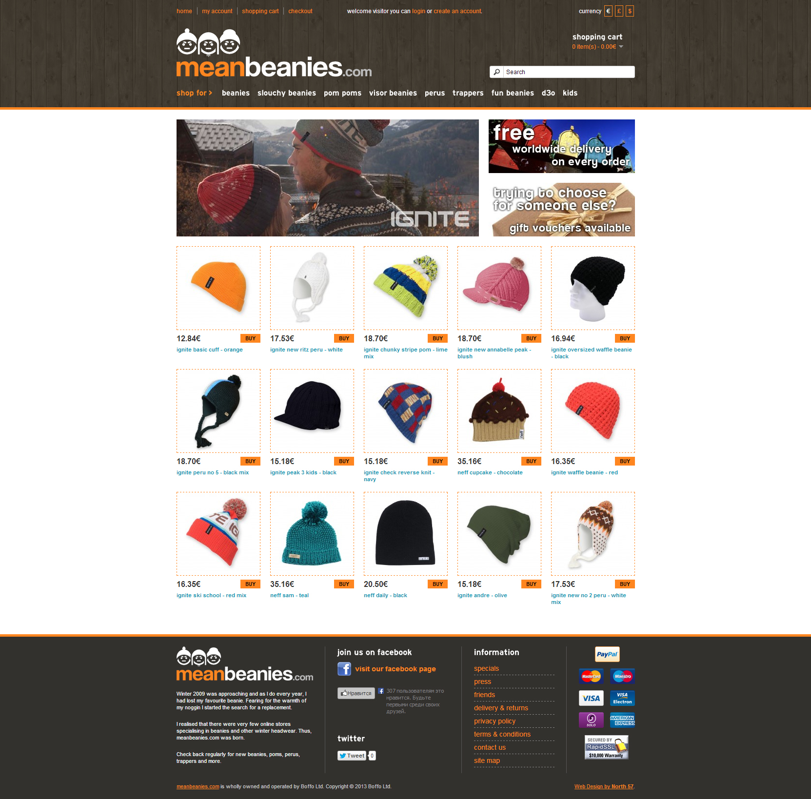 Mean Beanies Online Shop