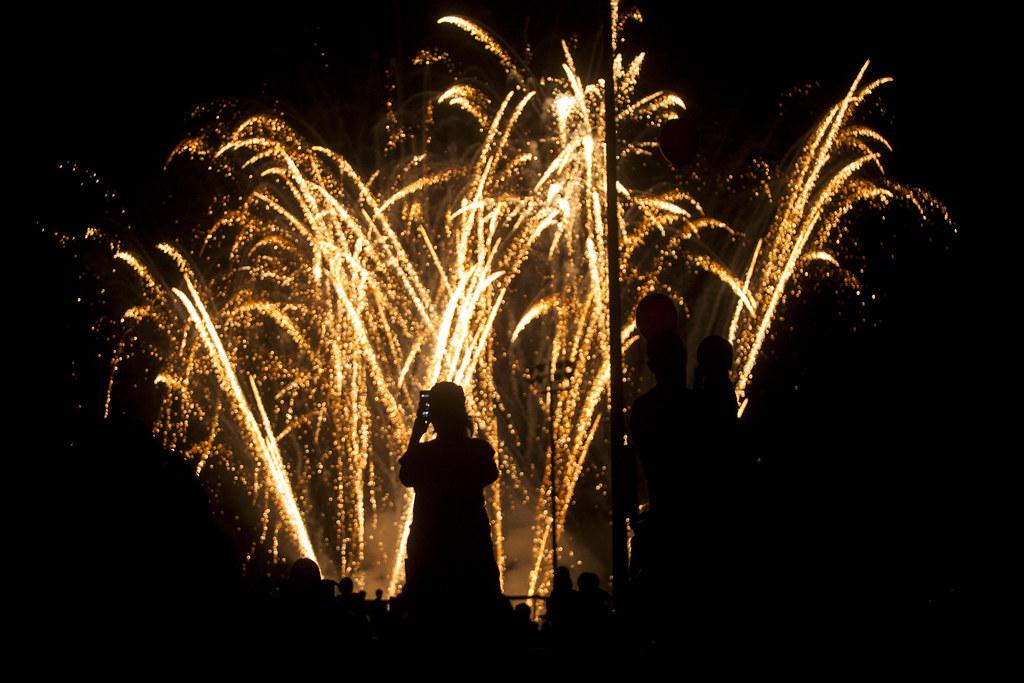 Fireworks Over Elkton