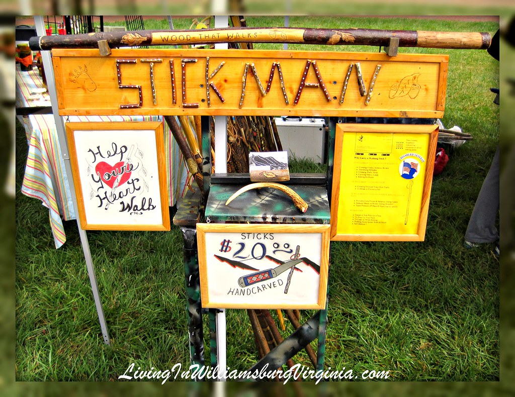 Stickman Walking Sticks