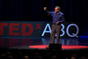 Lab Director McMillan presents at TEDxABQ last month