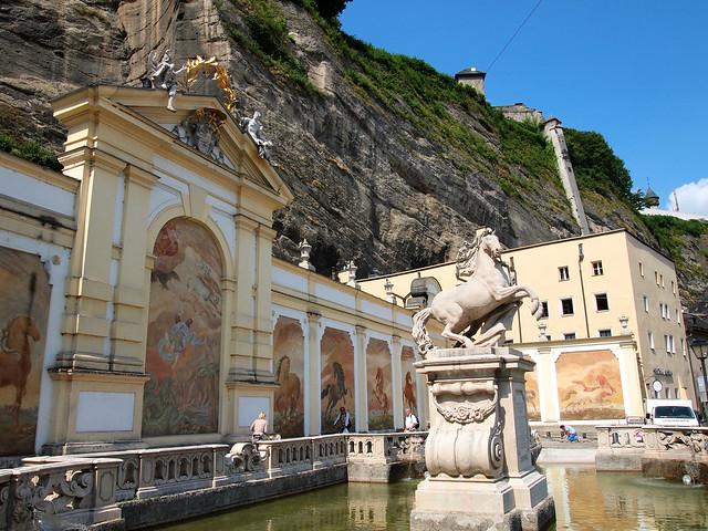Salzburg horse bath