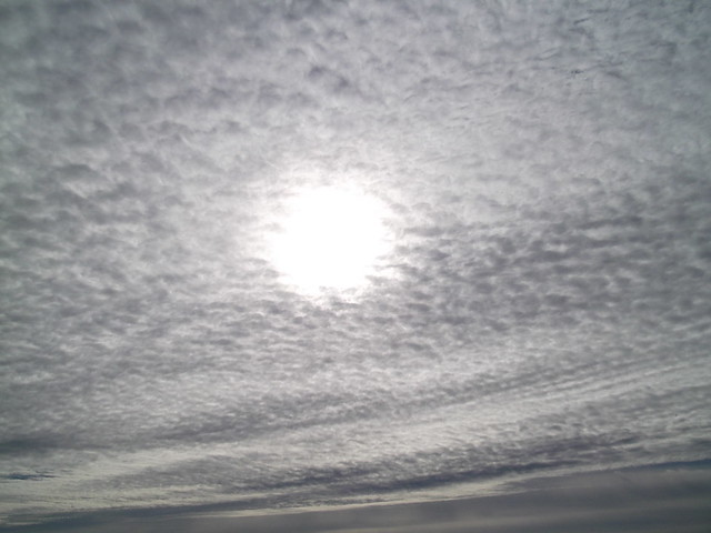 Ciel d'octobre en Essonne