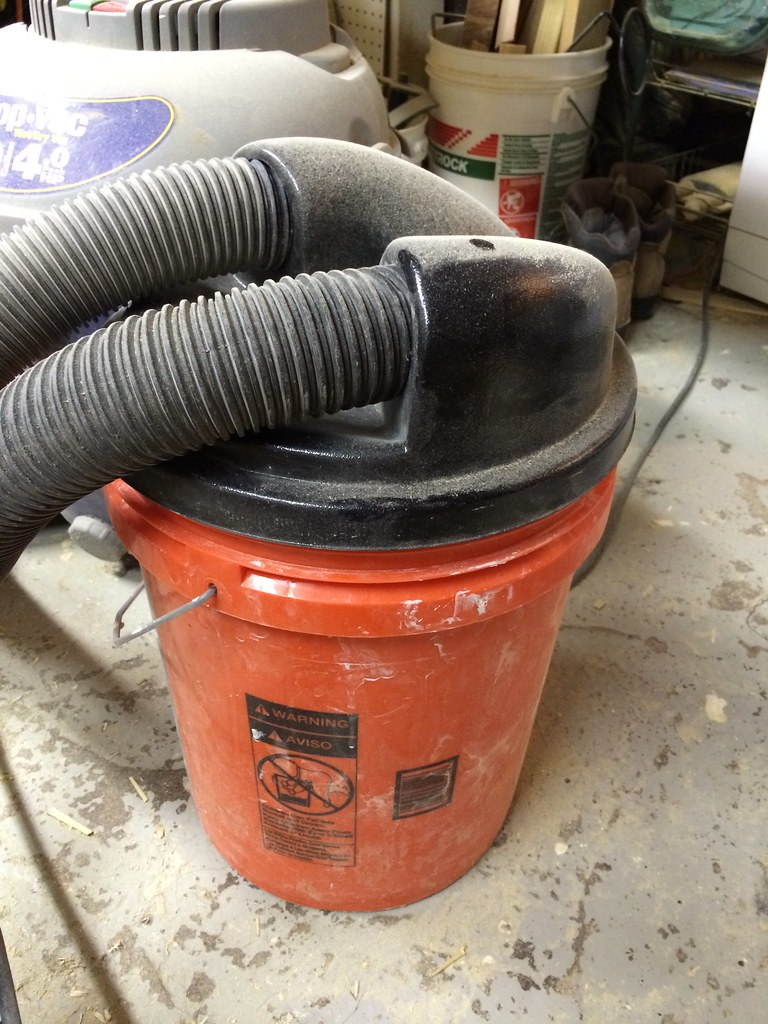 Toolbox tuesday turn your shop vac into a two stage dust system toolbox tuesday turn your shop vac into a two stage dust system old town home keyboard keysfo Images