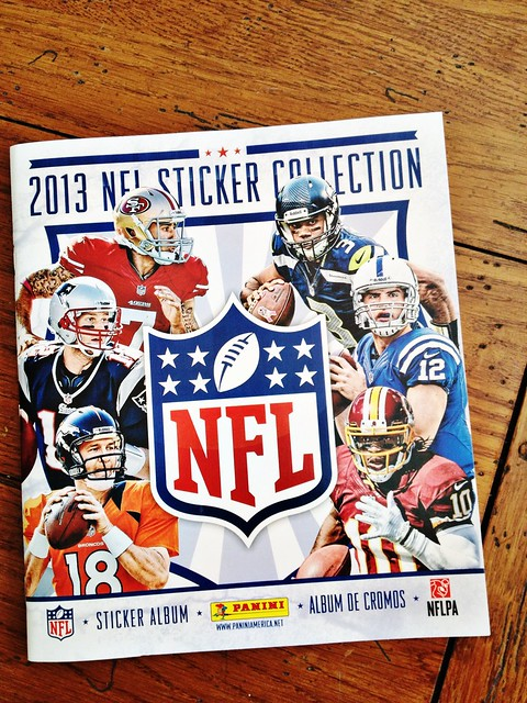 Panini NFL Sticker Collection 2013