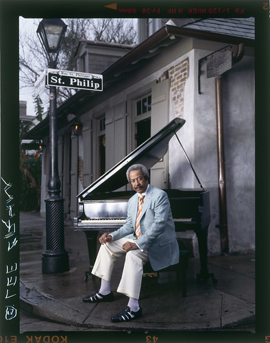 Allen Toussaint Courtedy of T-Rx Entertainment