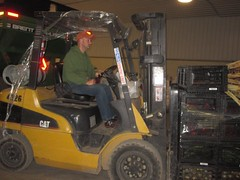 light commercial vehicle(0.0), vehicle(1.0), forklift truck(1.0),