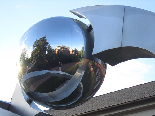 Sculpture-reflection