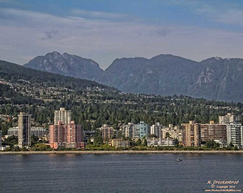 canada vancouver cityscape britishcolumbia straitofgeorgia cityofvancouver northvancouvershoreline