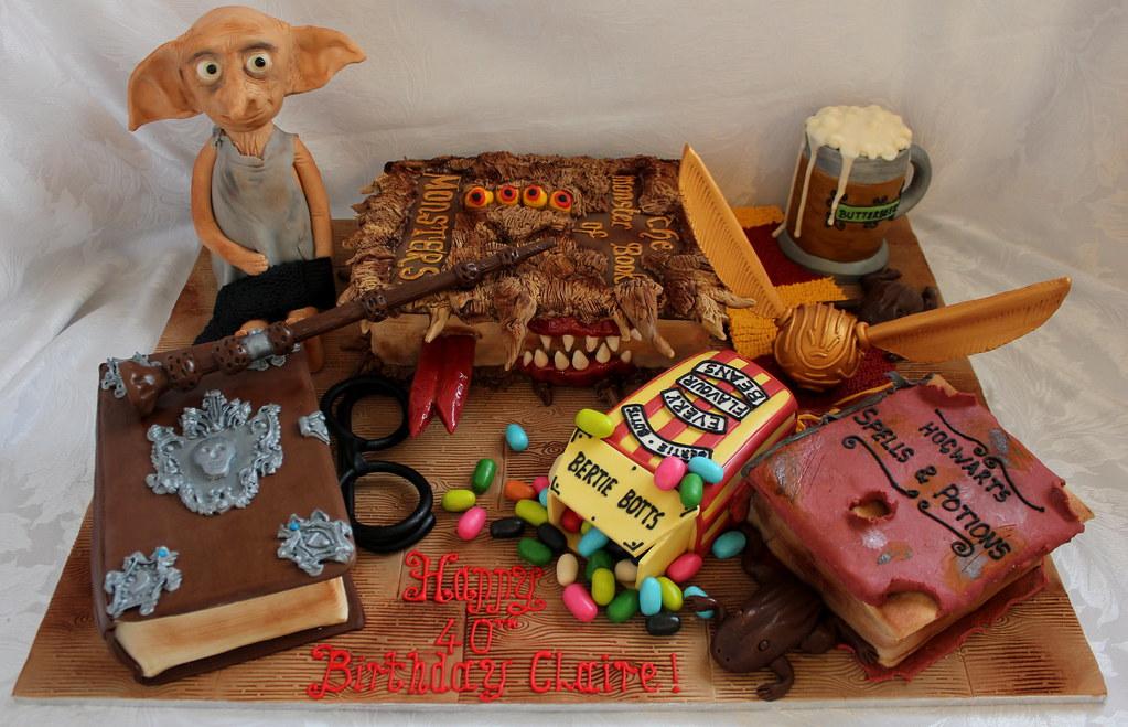 Harry Potter birthday cake a photo on Flickriver