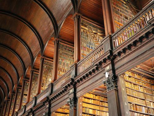 Books, books, books as far as the eye can see!
