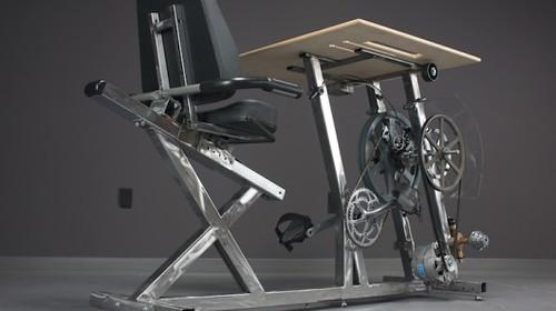 Велотренажеры Pedal Power вырабатывают электричество и поддерживают владельцев в форме
