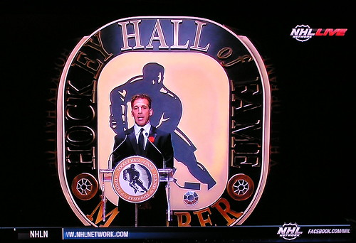 Hockey's Newest Hall of Famer