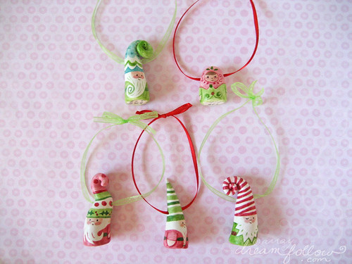 Christmas NŌM ornaments