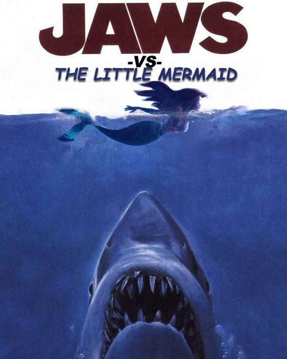 Tubarão Vs. A Pequena Sereia