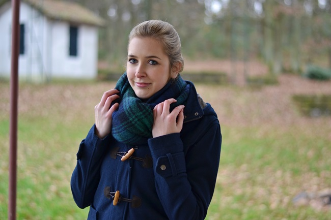 Outfit Roter Pulli + Bluse (6)