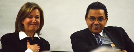 Noemí Sanín Posada y Miguel Ceballos Arévalo