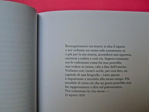 Michael Nedo (a cura di), Una biografia per immagini. Carocci 2013. Progetto grafico di Shoko Mugikura e Michael Nedo. Falcinelli & co. per l'ed. it. Pag. 15 (part.) 1
