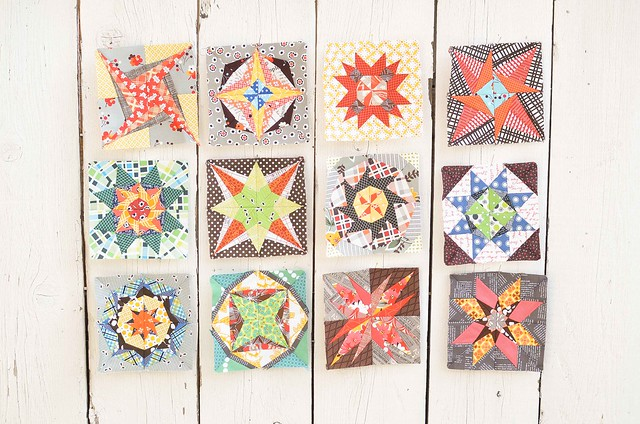 Lucky Stars Blocks Jan - Dec