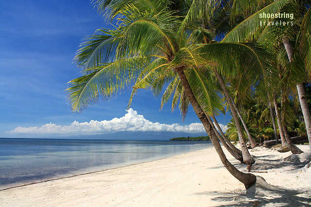 one of the beaches in San Juan town, Siquijor