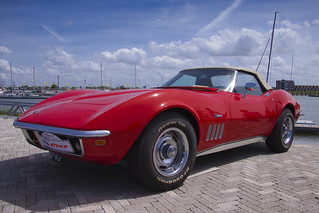Chevrolet Corvette Sting Ray Convertible 1969 (7474)