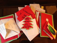 Christmas Cards to Mayor Gray