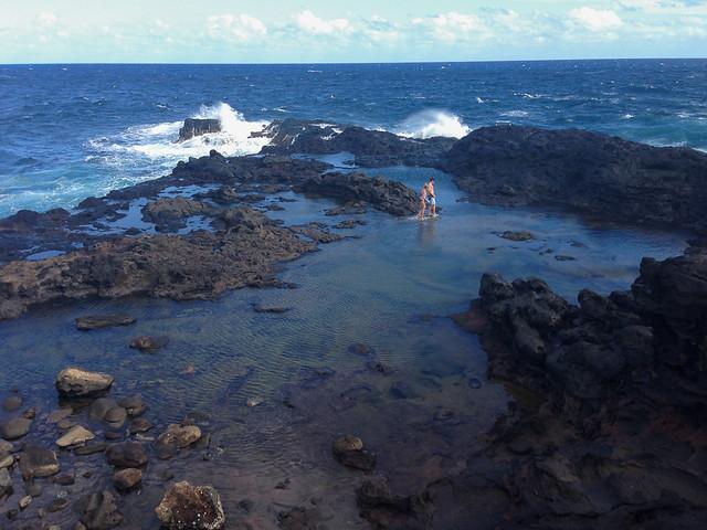 Olivine Pools - Northwest Maui - Hawaii