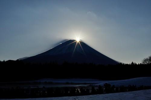 fujisan 富士山 mtfuji ダイヤモンド富士